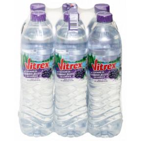 Vitrex Mineralwasser Schwarze Johannisbeere PET 6x 1,5 ltr