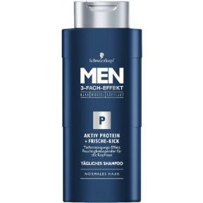 Schwarzkopf Shampoo Men Aktiv Protein + Frische-Kick 250 ml