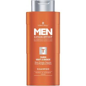 Schwarzkopf Shampoo Men Taurin Kraft & Energie