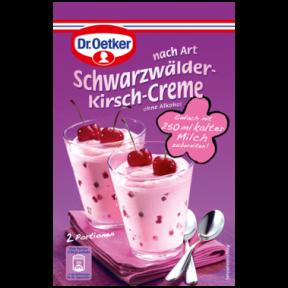 Dr.Oetker nach Art Schwarzwälder-Kirsch-Creme