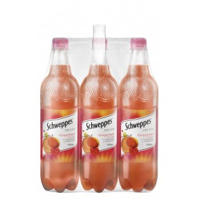Schweppes Fruity Grapefruit & Acerola 6x 1 ltr
