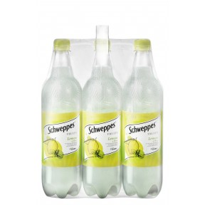 Schweppes Fruity Lemon & Mint 6x 1 ltr