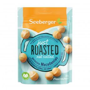 Seeberger Just Roasted Not Salted Geröstete Macadamias 80G