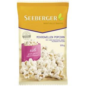 Seeberger Mikrowellen Popcorn süß 100 g