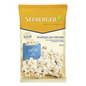 Seeberger Mikrowellen Popcorn salzig 100 g