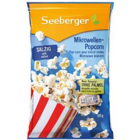 Seeberger Mikrowellen-Popcorn salzig 90G