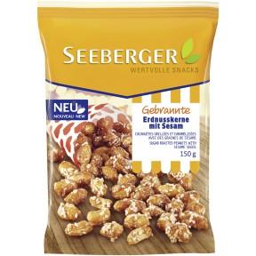 Seeberger Gebrannte Erdnusskerne mit Sesam