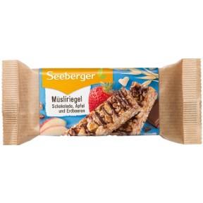 Seeberger Müsliriegel Schoko,Apfel und Erdbeere 50 g