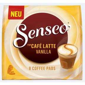 Senseo Kaffeepads Cafe Latte Vanilla 8x 11,5 g