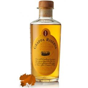 Sibona Grappa Riserva Whiskey in einer Geschenkdose
