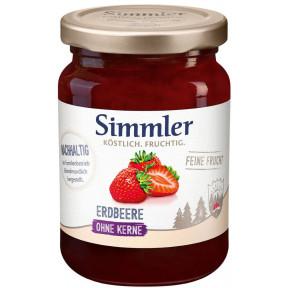 Simmler Konfitüre Feine Frucht Erdbeere 225 g