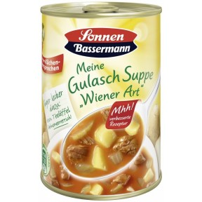 Sonnen Bassermann Gulasch Suppe Wiener Art 400 ml