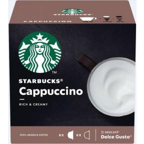 Starbucks Cappuccino Kaffeekapseln 6x 14,5 g + 5,5 g