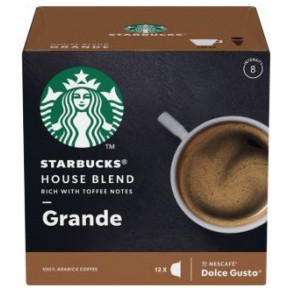 Starbucks House Blend Grande Kaffeekapseln 12x 8,5 g