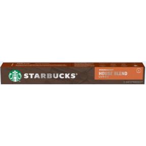 Starbucks House Blend Lungo Kaffeekapseln 10x 5,7 g