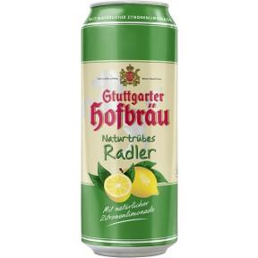 Stuttgarter Hofbräu Naturtrübes Radler 0,5 ltr Dose
