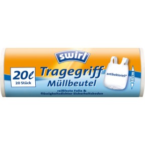 Swirl Tragegriff Müllbeutel 20 Liter