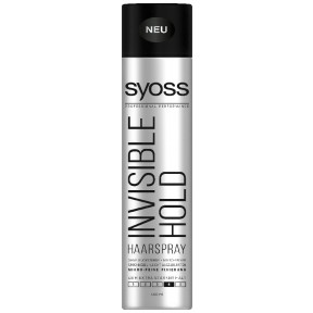 Syoss Haarspray Invisible Hold extra stark Haltegrad 4 400ml