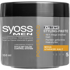 Syoss Power Hold Extreme Styling-Paste - Stärke 5