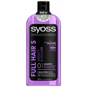 Syoss Shampoo Full Hair 5 Density & Volume