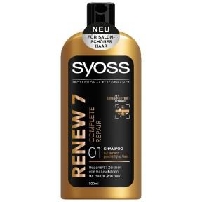 Syoss Shampoo Renew 7 Complete Repair