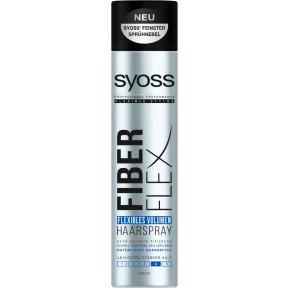 Syoss Haarspray Fiber Flex flexibles Volumen extra starker Halt