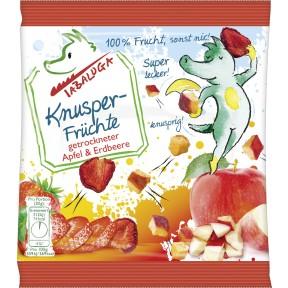 Tabaluga Knusper-Früchte getrockneter Apfel & Erdbeere