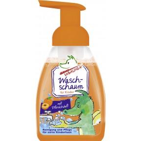 Tabaluga Waschschaum für Kinder mit Pfirsichduft 225 ml