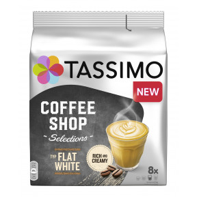 Tassimo Coffee Shop Selections Kapseln Flat White 8ST 220g
