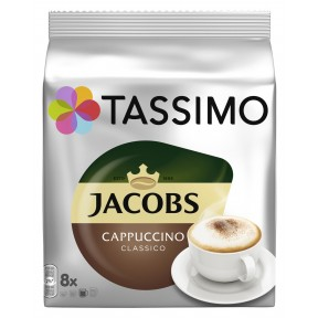 Tassimo Jacobs Cappuccino Classico 8ST 260G