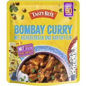 Tasty Bite Bombay Curry mit Kichererbsen &  Kartoffeln 285 g