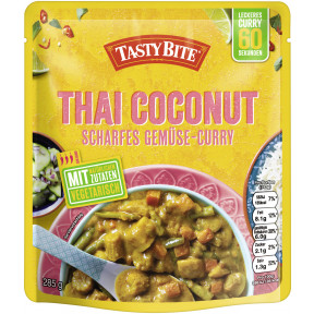 Tasty Bite Thai Coconut Scharfes Gemüse-Curry 285 g