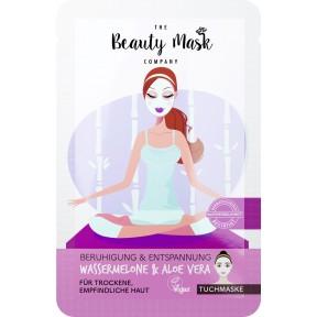 The Beautymask Company Tuchmaske Beruhigung & Entspannung 1 Stk