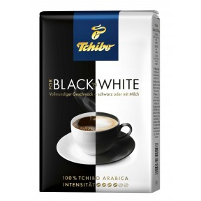 Tchibo Kaffee Black 'N White ganze Bohne