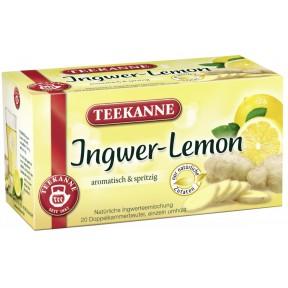 Teekanne Ingwer-Lemon