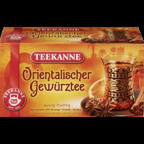 Teekanne Orientalischer Gewürztee