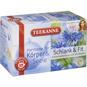 Teekanne Schlank und Fit Tee 20x 2 g