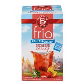 Teekanne Frio Erdbeere-Orange Tee zum kalt Aufgiessen
