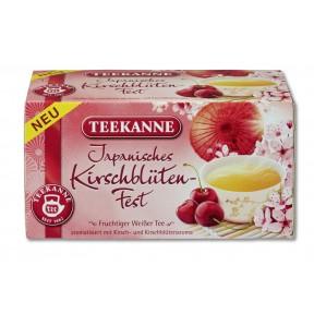 Teekanne Tee Japanisches Kirschblütenfest