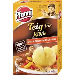 Pfanni Teig für Klöße mit rohen Kartoffeln für 12 Stück 330 g