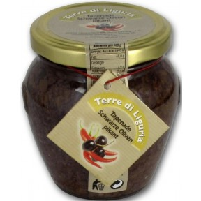 Audia Food Terre di Liguria Tapenade Schwarze Oliven pikant