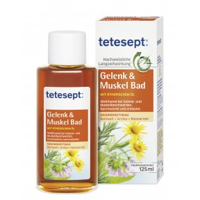 Tetesept Gelenk & Muskel Bad 125 ml