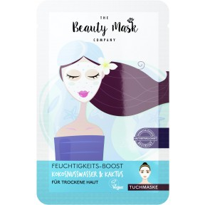 The Beauty Mask Company Tuchmaske Feuchtigkeits-Boost 1 Stk