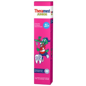 Theramed Zahncreme Junior Erdbeer 75 ml