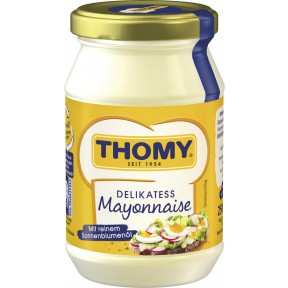 Thomy Delikatess Mayonnaise im Glas 250 ml