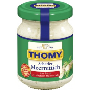 Thomy Meerrettich im Glas