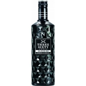 Three Sixty Vodka Black 42 0,7 ltr
