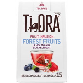 Ti Ora Fruit Infusion Forest Fruits & New Zealand Blackcurrant 15ST 30G