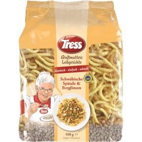 Tress Großmutters Leibgerichte Schwäbische Spätzle & Berglinsen