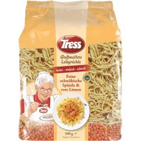 Tress Großmutters Leibgerichte Feine schwäbische Spätzle & rote Linsen